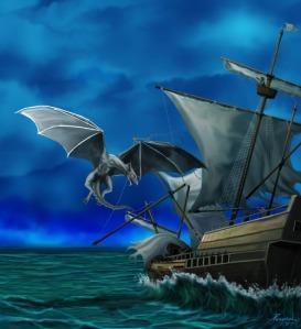 dragonattackatsea